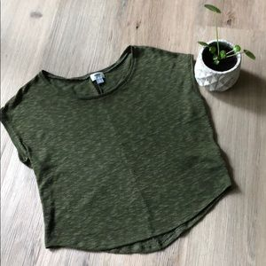 Olive green top from Old Navy -size medium